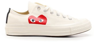 Comme des Garcons X Converse Chuck Taylor Heart 1970s Sneakers