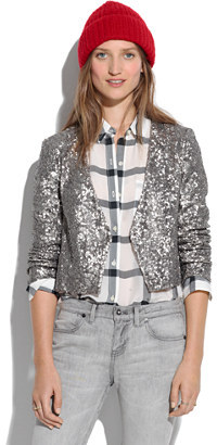 Madewell Sequin jacket