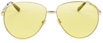 Gucci 61MM Unisex Aviator Sunglasses