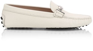 Tod's Gommino Double T Leather Driving Loafers