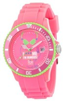 Ice Watch Ice-Watch Unisex Quartz Watch with 43mm Pink Dial Analogue Display and Pink Silicone Strap FM.SS.FPH.U.S