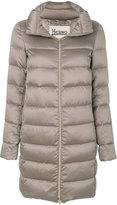 Herno padded zip up coat
