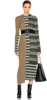Maison Margiela Mixed Knit Dress