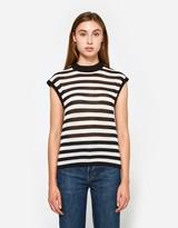 Stripe Muscle T-Shirt