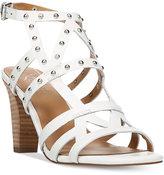 Franco Sarto Calesta Strappy Embellished Sandals