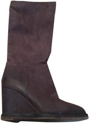 Roberto Coin Brown Leather Boots