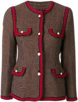 Gucci polka dot pattern jacket