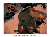 1art1 Posters: Paul Gauguin Poster Art Print - Aha Oe Feii? (32 x 24 inches)