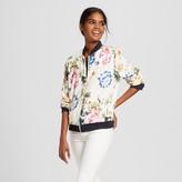 Bagatelle Collection Women's Floral Bomber Jacket