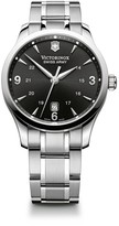 Victorinox Alliance Black Dial Watch, 40mm