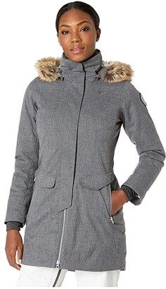 Obermeyer Sojourner Down Jacket (Charcoal) Women's Coat