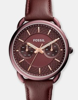 Fossil Tailor Red Analogue Watch