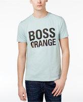 HUGO BOSS Orange Men's Graphic-Print Cotton T-Shirt