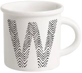 Ilaria.i Letter W Porcelain Mug