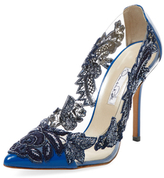 Oscar de la Renta Alyssa Embroidered Pump