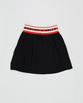 Scotch R'Belle Midi Length Skirt with Sporty Waistband - Teens