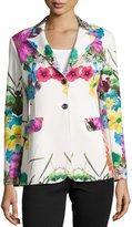 Berek Flower-Print Pop Jacket, Women's