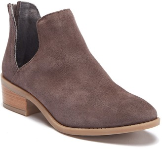 Steve Madden Laramie Suede Cutout Ankle Boot