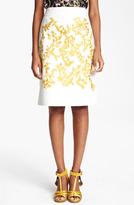 Thakoon Embroidered A-Line Skirt