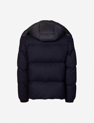 Moncler Braz wool and shell jacket