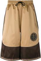 Astrid Andersen satin panel track shorts