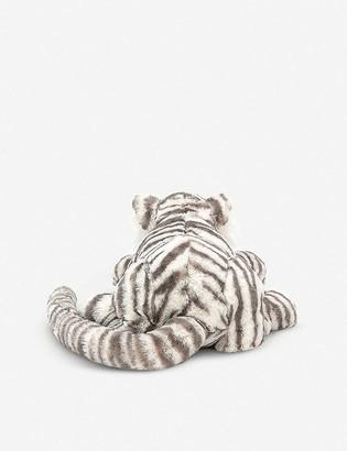 Jellycat Sacha Snow Tiger soft toy 45cm