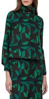 Akris Women's Print Cotton Blend Jacket