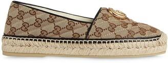 Gucci GG monogram espadrilles