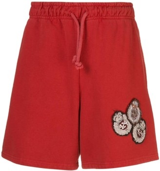 424 Jersey Shorts With Patches On The Front