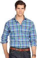 Ralph Lauren Plaid Poplin Sport Shirt