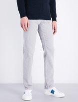 Salvatore Ferragamo Regular-fit corduroy cotton trousers