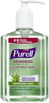 Alöe Purell Instant Hand Sanitizer With 8 oz - 2 pk