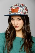 Urban Outfitters Reason Floral 5-Panel Camp Hat