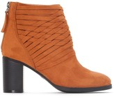 La Redoute Collections Leather Ankle Boots