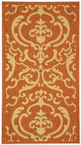 Safavieh Courtyard Allover Scrolls Indoor/Outdoor Rectangular Rugs