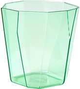 CB2 Facet Aqua Acrylic Double Old-Fashioned