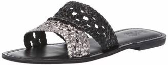 Seychelles Women's Everlasting Slide Sandal Black/Pewter 9.5 M US