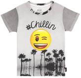 Little Eleven Paris Sale - Chilin Emoji T-Shirt