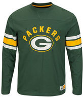 Majestic NFL Green Bay Packers Power Hit Long Sleeve T-Shirt