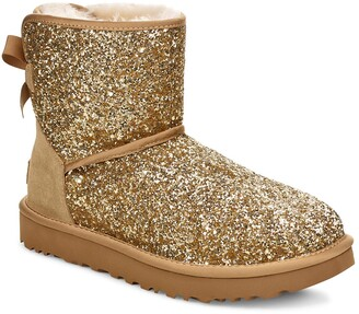 UGG Classic Cosmos Bow Mini Bootie