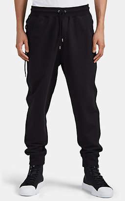 Craig Green Men's Cotton Laced-Side Jogger Pants - Black
