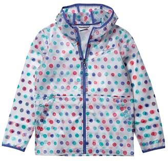 Columbia Kids Translucent Trailtm Rain Slicker (Little Kids/Big Kids) (White) Kid's Clothing