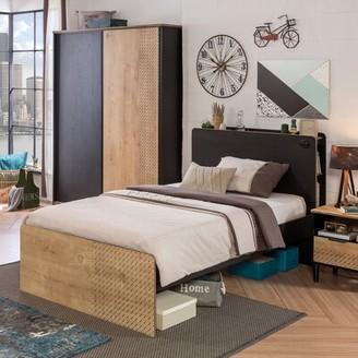 Latitude Run Dilanas Solid Wood Storage Bed Size: Full