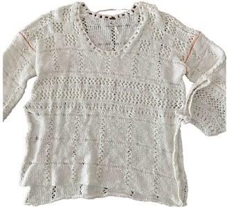 Free People Ecru Cotton Knitwear for Women