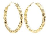 Charlotte Russe Chainmail Hoop Earrings