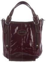 Tod's Leather-Trimmed Crossbody Bag