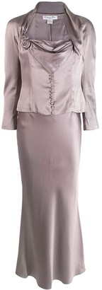 Christian Dior Pre Owned two-piece skirt suit