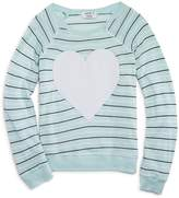 Wildfox Couture Girls' Striped Heart Tee