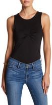 Contemporary Designer Sleeveless Solid Bodysuit