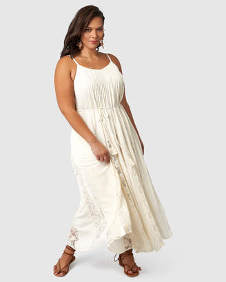The Poetic Gypsy Leaning Beauty Maxi Dress